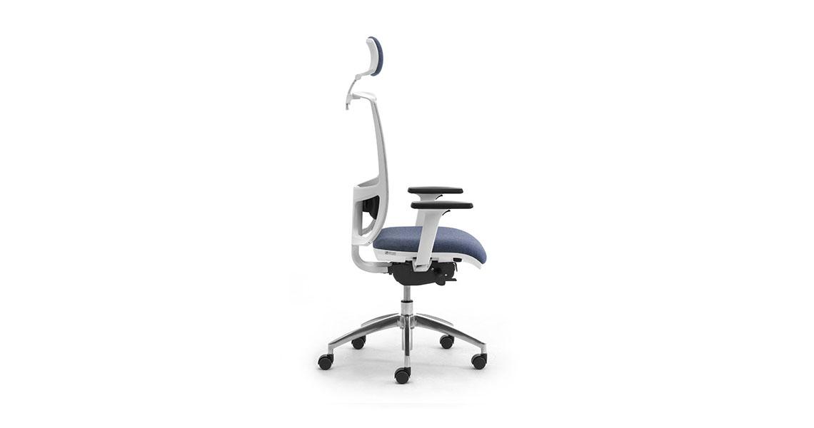 Sedie per ufficio bianche - Leyform
